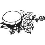 ylioppilaslakki-ja-ruusu