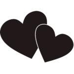 mustat-sydamet